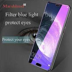 Marshland Filter Blue Light Mobile Tempered Glass