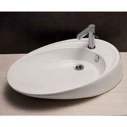 TRS-WHT-0526 Ceramic Basin