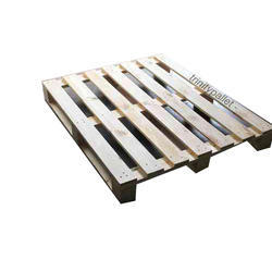 Brown Square 4 Way Wooden Pallet, For Shipping, Capacity: 1500 Kg