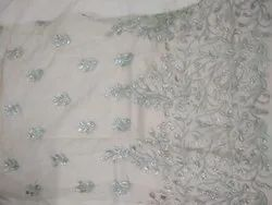 Embroidered Net Fabric