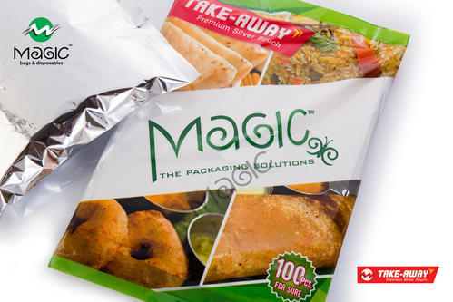 SILVER FOIL FOOD POUCHES - Biryani Pouches Manufacturer from Bengaluru