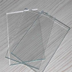 Glossy Plain Glass Sheet, 4-10mm, Size: 3-5 Feet