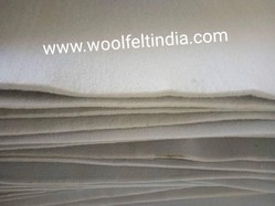 Wool Felt Compressed Sheets