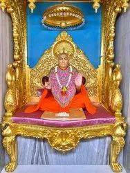 Temple Singhasan Altar