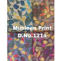 Printed Muslin Silk Fabric