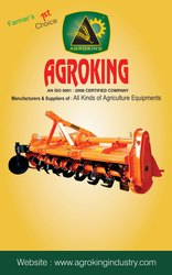 AGROKING Rotavator, For Farming, 45-50