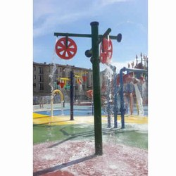 Water Park Spray Wheel