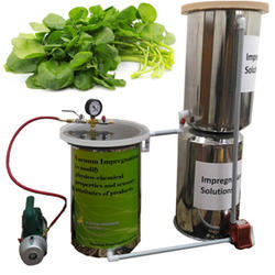 Vacuum Impregnation Machine- Physico Chemical Properties And Sensory Attributes Of Watercress