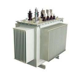 Three Phase Oil Cooled Industrial Electric Transformer, Floor Mounted, Capacity: 250 Kva To 10 Mva