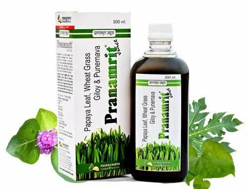 Pranamrit- Wheat Grass Juice