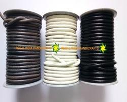5 MM Round Leather Cords
