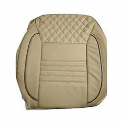 Brown Pu Leather Full Bucket Car Seat Cover