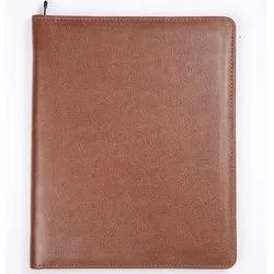 Brown Leather File Holder