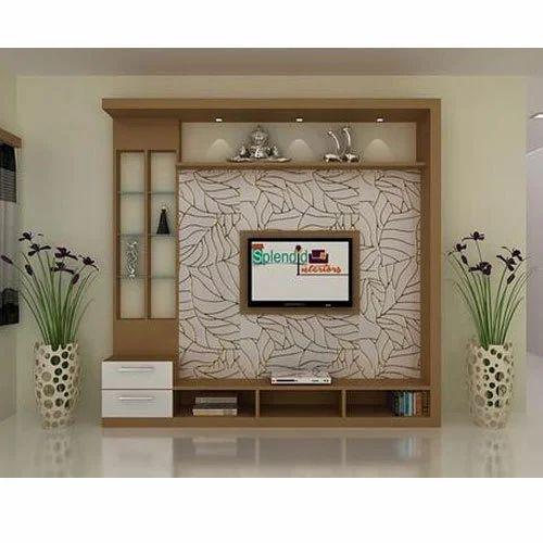 modern tv unit at rs 1300 square feet ramnagar. Black Bedroom Furniture Sets. Home Design Ideas