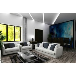 Living Room Interior Residential Interior Designing Service
