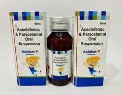 Aceclofenac And Paracetamol Oral Suspension