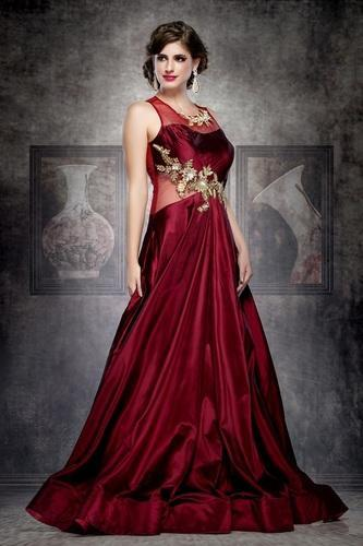 b7f75ad233 Partywear Gown - Party Wear Gown Manufacturer from New Delhi