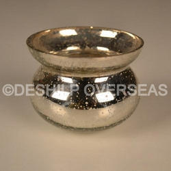 Silver Cup Candle Votive Holder