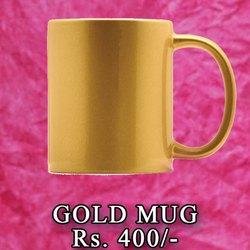Gold Mug Printing Service