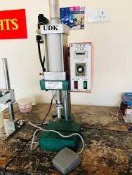Hydraulic Iron Automatic Tikki Fitting Machine, Model Name/Number: UDKETKFM