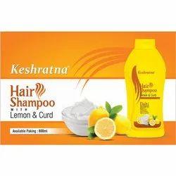 Keshratna Keshrtna Lemon And Curd Hair Shampoo, Packaging Type: Plastic Bottle
