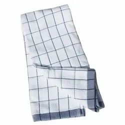 Checked Tea Towel And Kitchen Towel