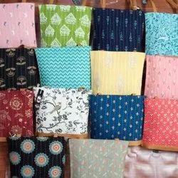 Cotton Multicolor Handicraft Ladies Hand Bag