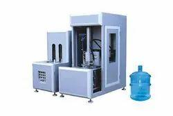 180 BPH 1 Cavity Semi Automatic PET Jar Blow Moulding Machine 5 liters