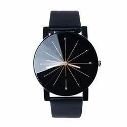 Black Fancy Wrist Watch