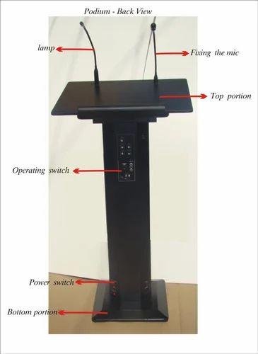 fd37a9e368c Presentation Equipment - In Built Podium Manufacturer from Bengaluru