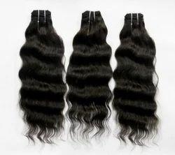 Brazilian Virgin Silky Wavy Hair Extension
