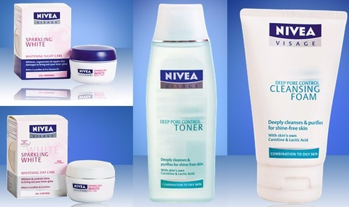 Nivea Products Body Care , Nourishing ,shower Lotions