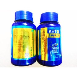 Keto Weight Loss Supplement Tablet, Packaging Type: Bottle, Packaging Size: 60 Tablets