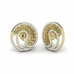 The Rona Diamonds Earrings For Her 18K Yellow Gold 0.93 Ct IJ-SI