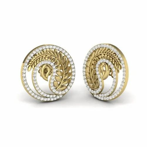 67bc0be7d7d80 The Rona Diamonds Earrings For Her 18k Yellow Gold 0.93 Ct Ij Si