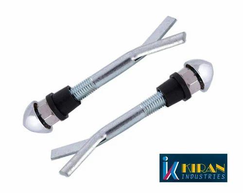 "Kiran Industries Wall Hung Y-Type Bidet Bolt, Size: 4"" -9"""
