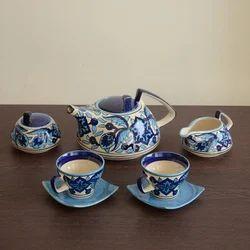 Ceramic Hand Painted Tea Set