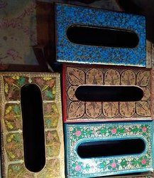 Rawsome Shack Paper Mache Tissue Box