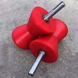 Red PU Conveyor Roller