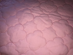 100% Polyester Quilted Fabric D10