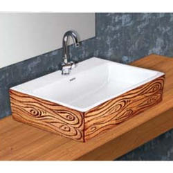 Wooden Table Top Wash Basin