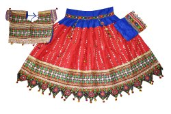 Garba Dance Costume -Gujarati Traditional Wear Lehenga Choli