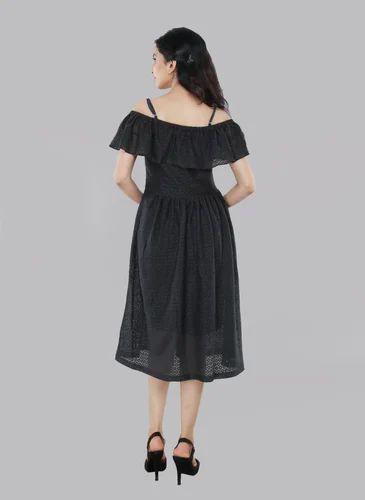 95711bfd26f2 Medium Polyester Women's Midi Dress, Rs 599 /piece, Phutro Fashion ...