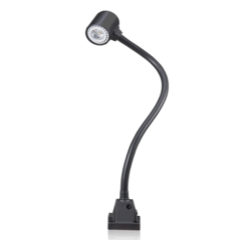 Maruti International Aluminum + PA+15%GF LED Flexible Arm Machine Lamp, Voltage: Dc 24v/Ac 100-240v, 5500-6000 K