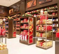 Display Racks for Chocolates Shop