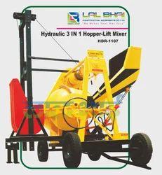 Hydraulic Hopper With Two Pole Lift Machine