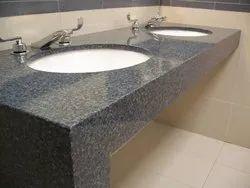 Quartz Polished Prefabricated Granite Counter Tops for Bathroom