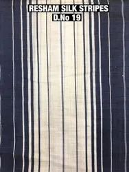 Resham Silk Stripes Fabric