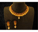 South Indian Coin Necklace Set