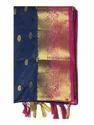 Designer Golden Zari Work Silk Saree